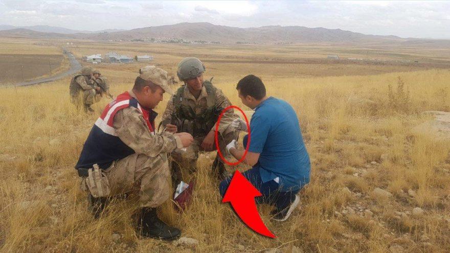 Operasyona giden askerler nesli tükenmekte olan Arap Tavşanı'nı buldu