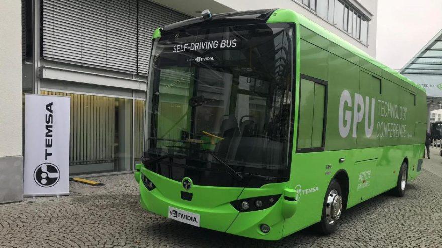 TEMSA'nın sürücüsüz otobüsü 2022'de yollarda