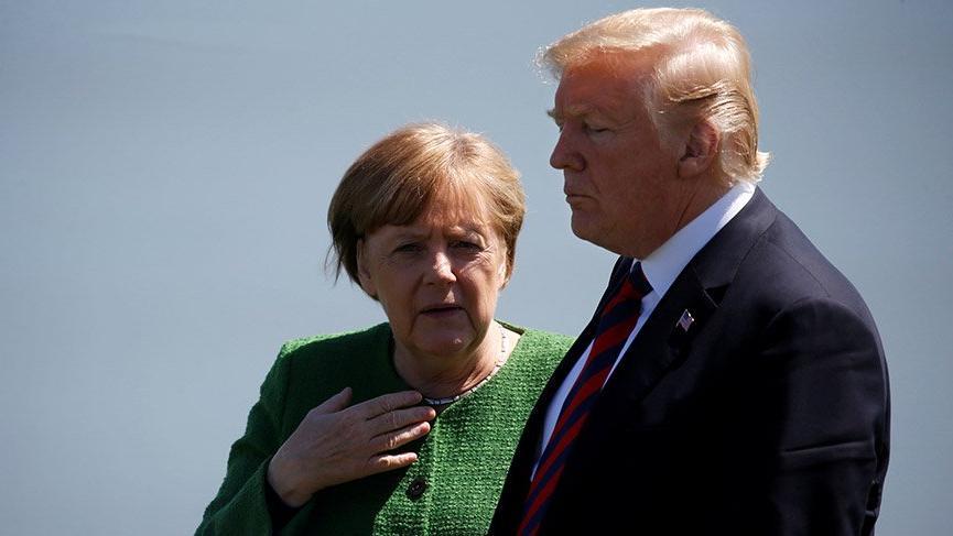 Yapılan son ankete göre Merkel'in popülaritesi Trump'ı solladı