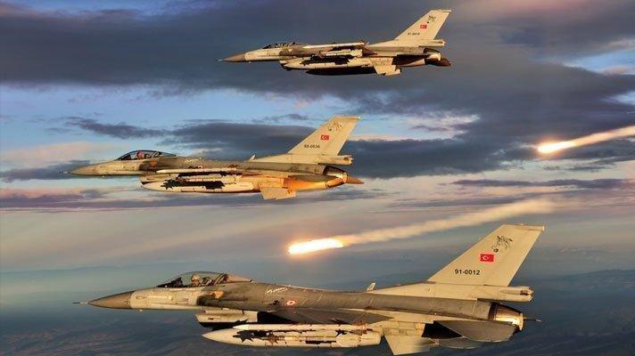 TSK'dan Kuzey Irak'a hava harekâtı