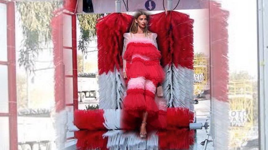 Tuba Ünsal'ın giydiği elbise sosyal medyayı salladı
