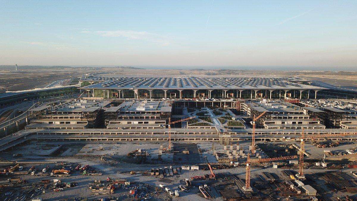 İstanbul Yeni Havalimanı üzerinde uçuş yasağı