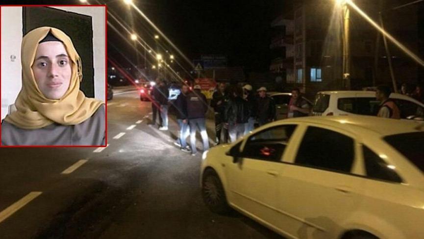 Ölüm üniversite öğrencisini otobüs durağında yakaladı
