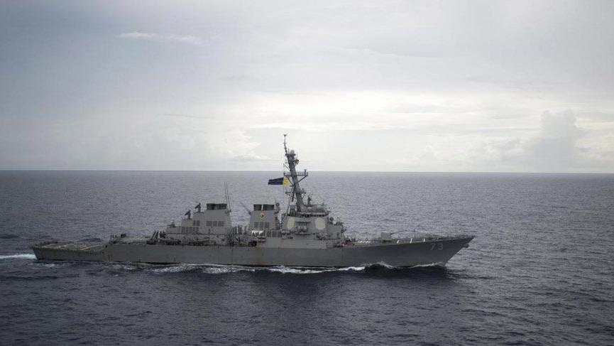 Çin, ABD savaş gemisine önleme yaptı