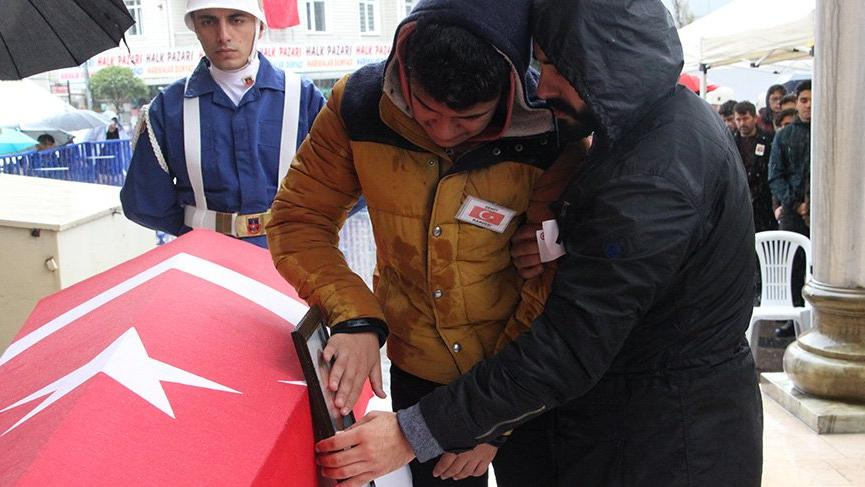 Şehit Jandarma Uzman Çavuş son yolculuğuna uğurlandı