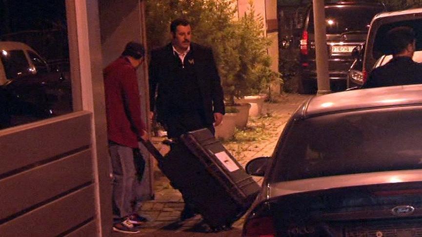 Suudi Başkonsolosluğu'nda dikkat çeken valiz trafiği