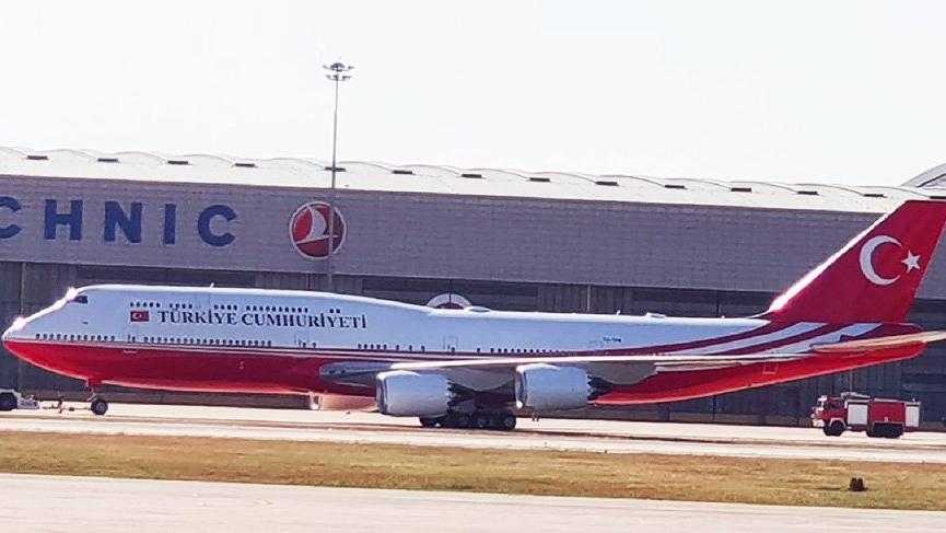 Katar Şeyhi, Erdoğan'a uçak hibe etti