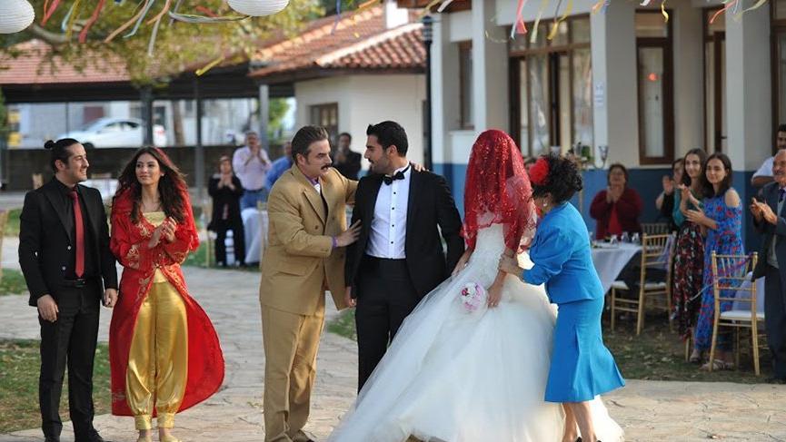 Çekimler için İstanbul'dan 100 kişilik ekip getirildi