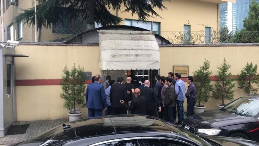 Son Dakika... Türk yetkililer Suudi Başkonsolosluğu'nda
