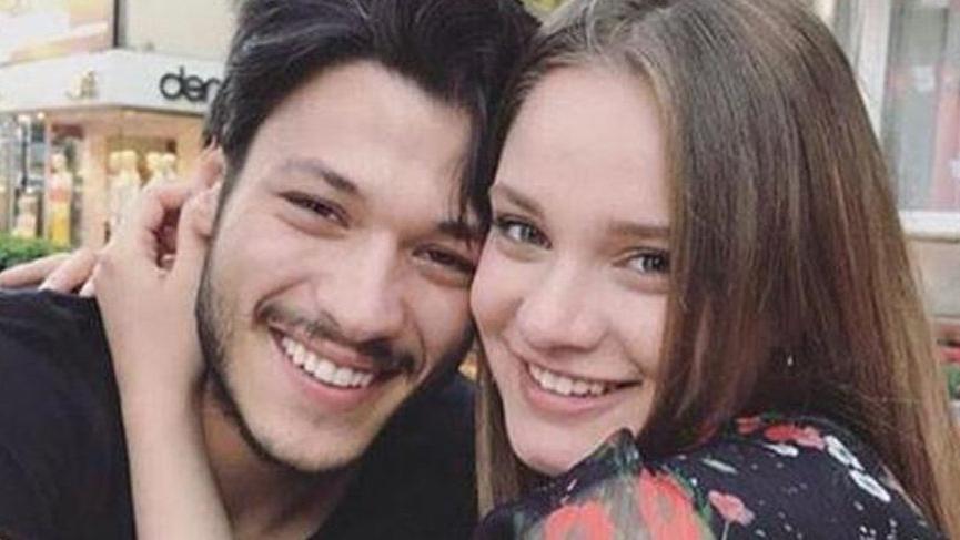 Oyuncu Kubilay Aka'dan sevgilisi Miray Daner'e romantik paylaşım