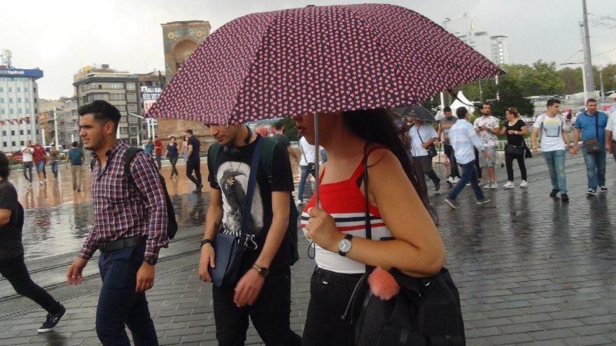 Meteoroloji'den hava durumu açıklaması: İşte yağmur beklenen iller…