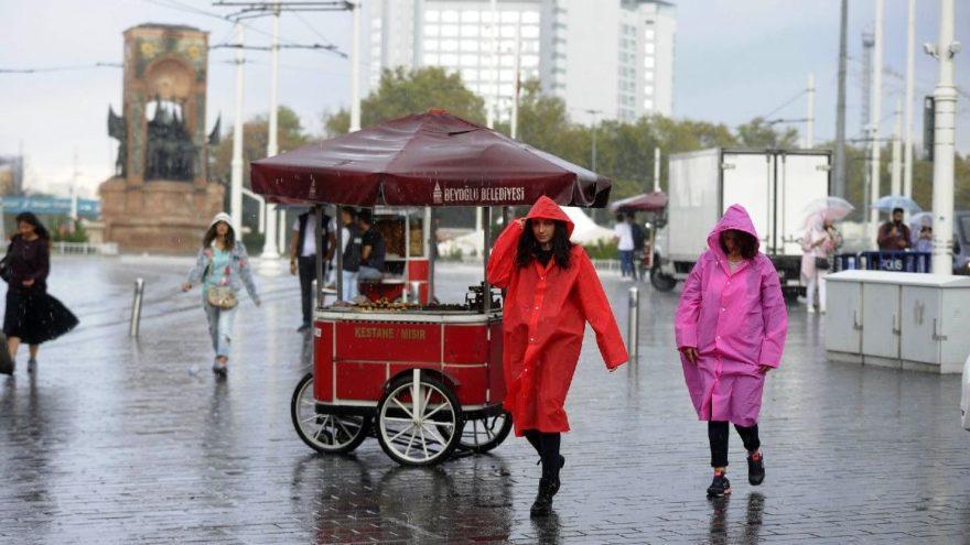 Meteoroloji'den hava durumu açıklaması: İstanbullular bugüne dikkat! İşte yağış beklenen iller…