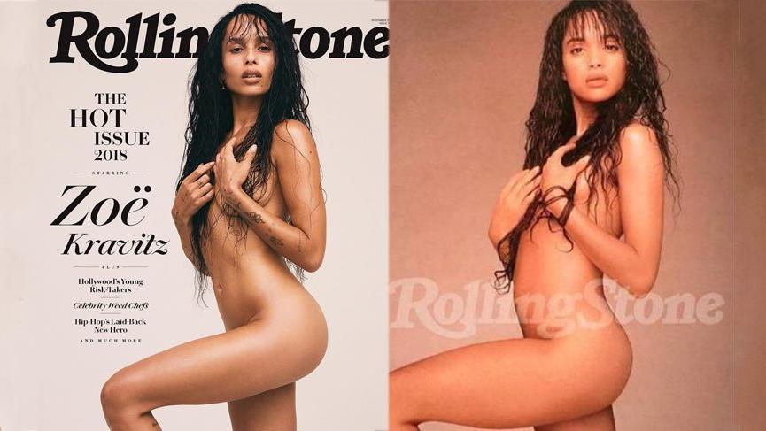 Zoe Kravitz 30 yıl sonra Lisa Bonet ile aynı pozu verdi
