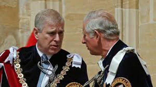Prens Andrew ve Prens Charles