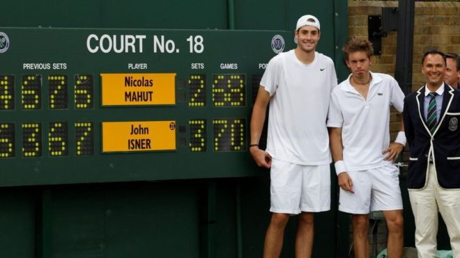 2010'daki Isner-Mahut mücadelesi.
