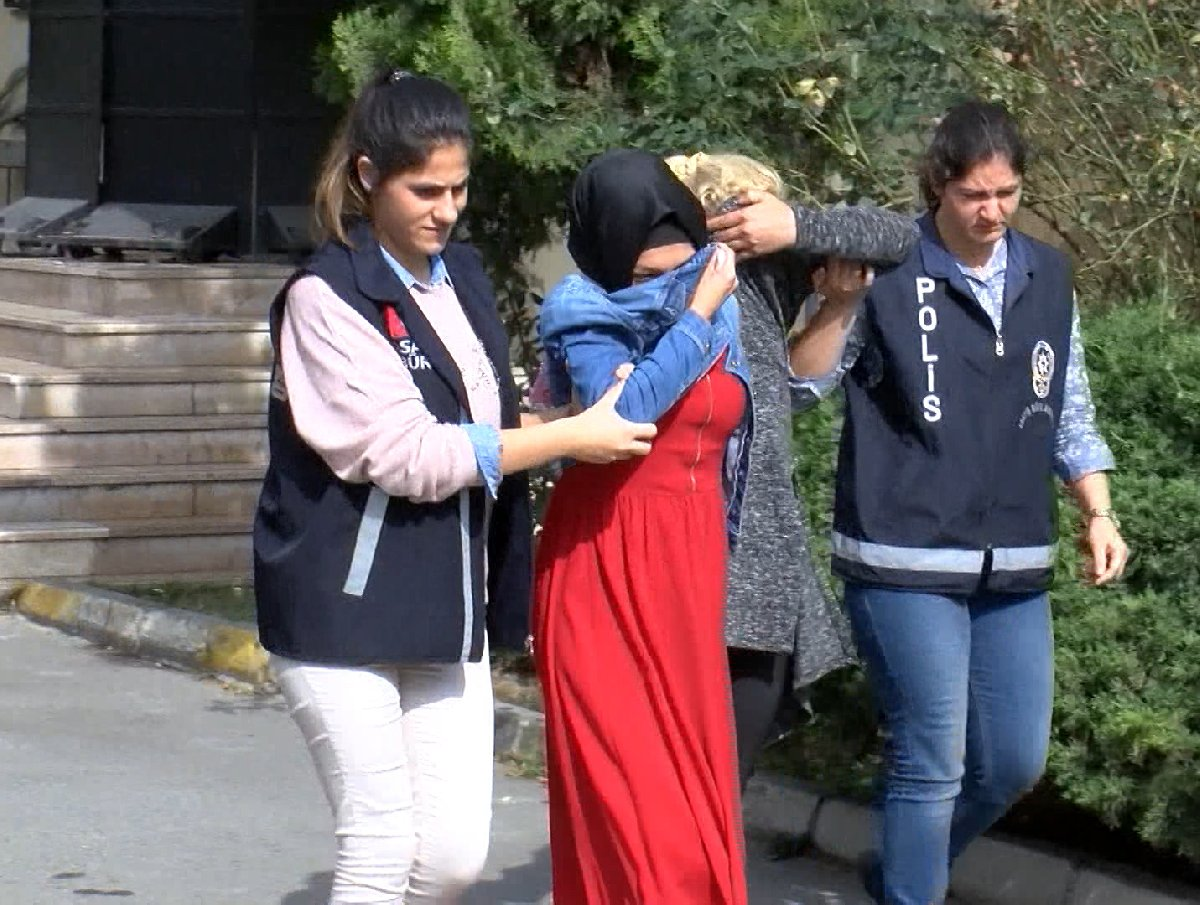 Abla Büşra Ç, tutuklandı.