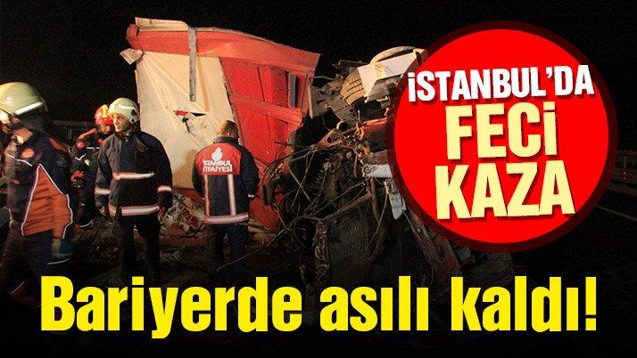 Yavuz Sultan Selim Köprüsü yolunda feci kaza! 2 kişi yaşamını yitirdi