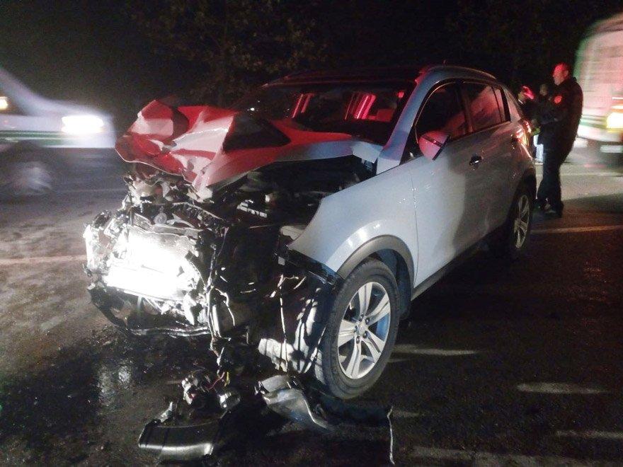 Kazada 1 kişi öldü. İHA