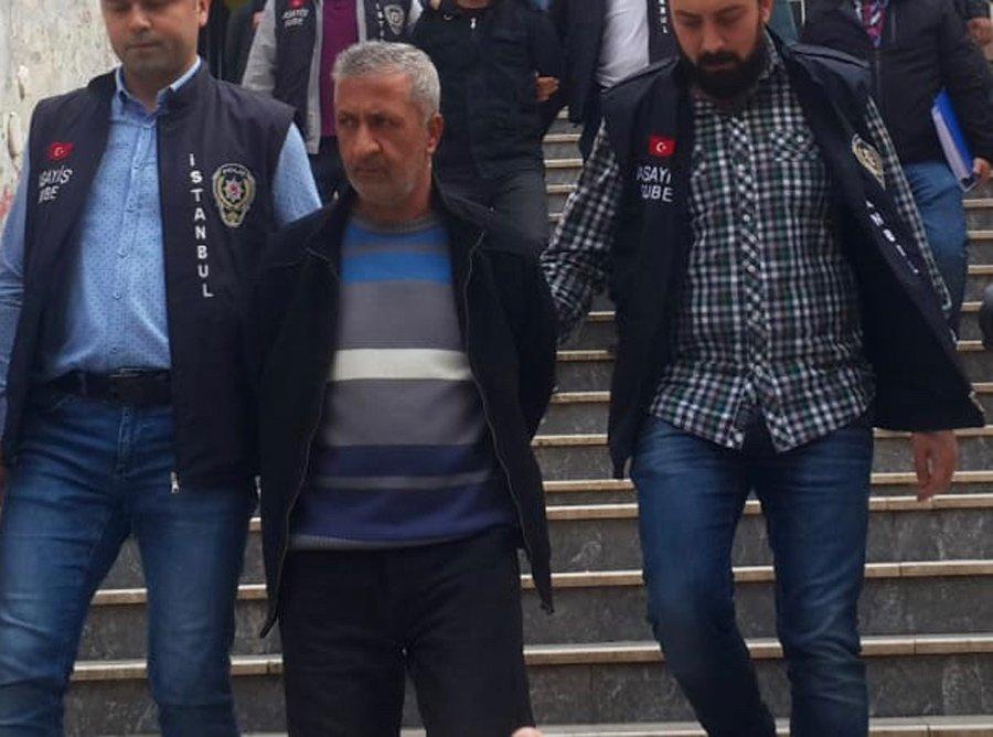 Kiralık Katil Murat K. cezaevine gönderildi.