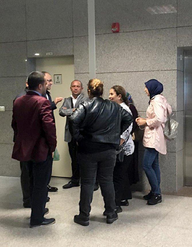 FOTO:AA - Konsolosluk çalışanlarının savcıya ifade verdi.