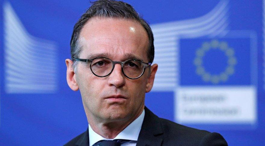 Alman Dışişleri Bakanı Maas çarpıcı açıklamalarda bulundu. Reuters