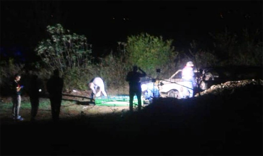 FOTO: İHA - Aydın'da araç içerisinde yanmış ceset bulundu