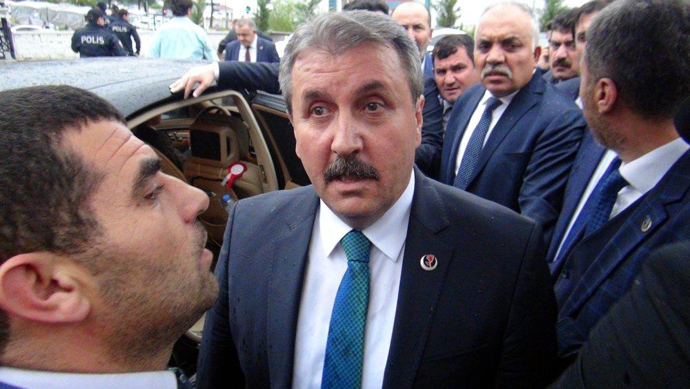 FOTO:DHA - Mustafa Destici'nin istifa edeceği iddia ediliyor.