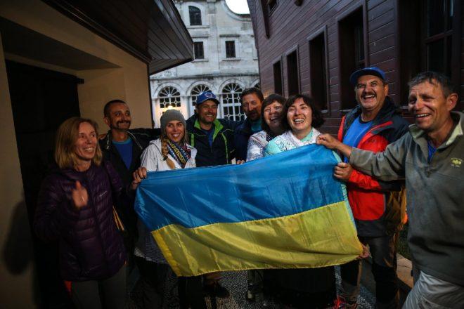 Karar sonrası Ukrayna vatandaşları büyük sevinç yaşadı.