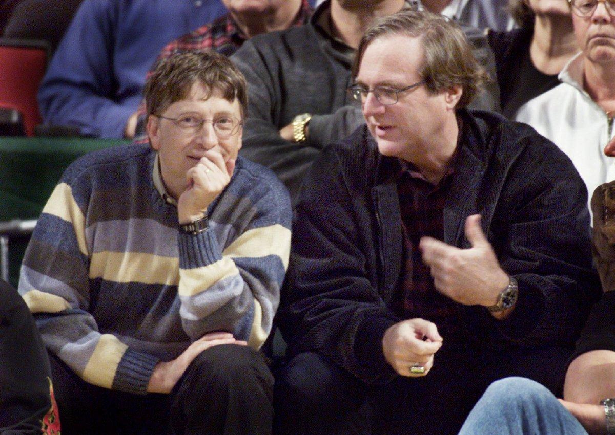 Gates ile Allen anlaşmazlık yaşasa da sahip olduğu Microsoft hisseleri sayesinde dünyanın en zengin isimlerinden biri olmuştu.
