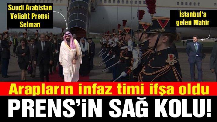 Kaşıkçı'yı öldürenlerden biri Prens Selman'ın sağ kolu çıktı