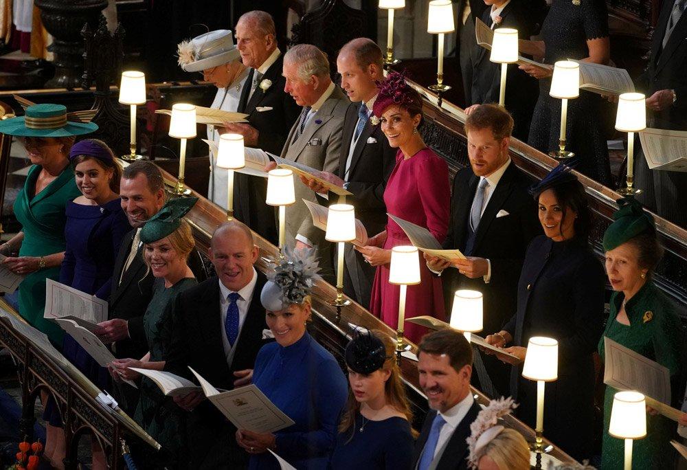Kraliyet ailesi törende bir aradaydı...