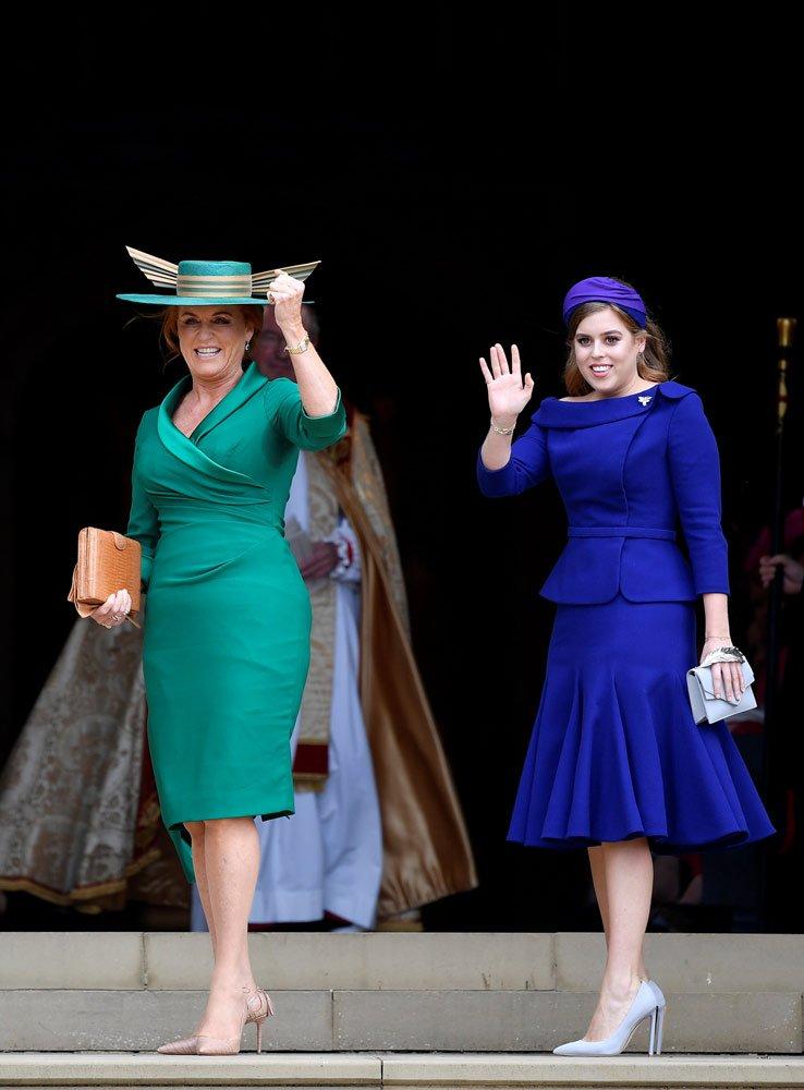 York Düşesi Sarah öi and Prenses Beatrice