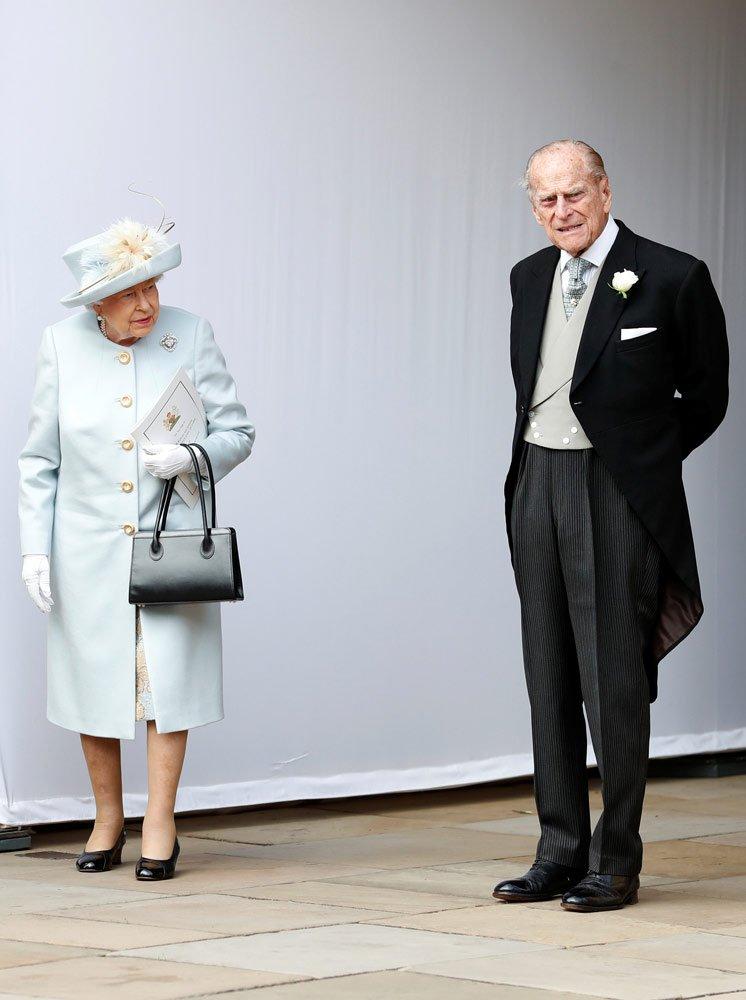 Kraliçe Elizabeth II ve Prens Philippe...