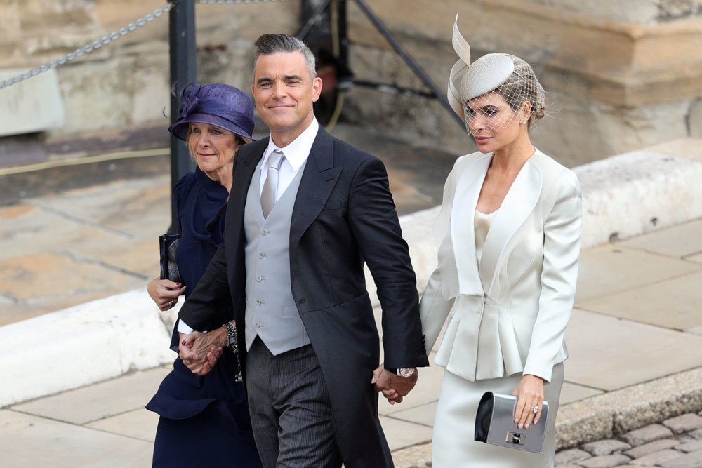Gwen Field, Robbie Williams ve Ayda Field