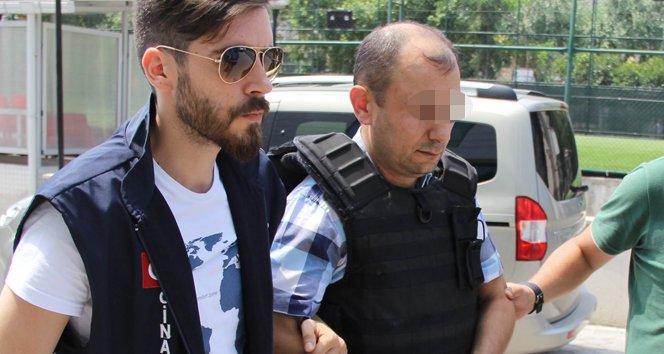 FOTO:İHA - Tutuklu polis ifadesinde olayın tüm detaylarını anlattı.