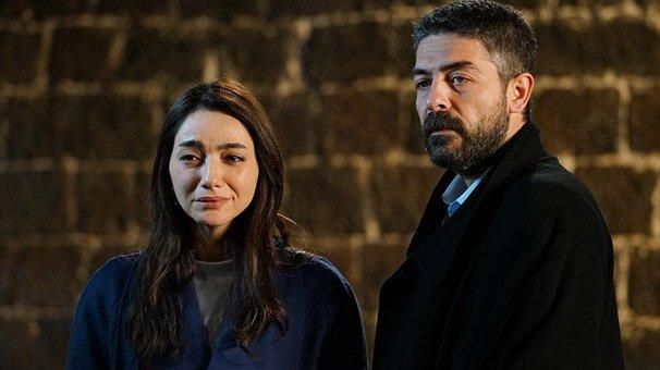 Sen Anlat Karadeniz'de Sinan Tuzcu ile dizideki partneri Öykü Gürman