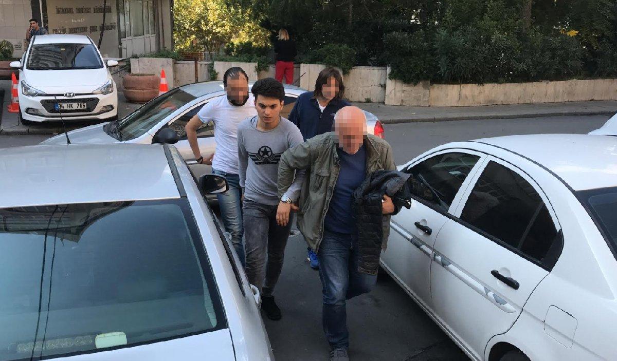 FOTO:SÖZCÜ - Esenler'de yakalanan Serhan T. polis merkezine getirildi.