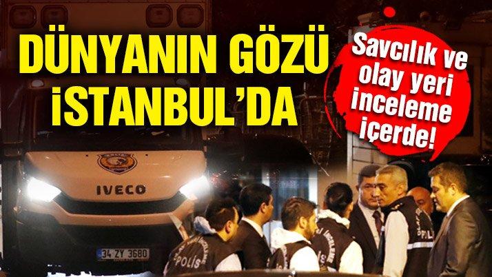 Son Dakika… Türk yetkililer Suudi Başkonsolosluğu'nda