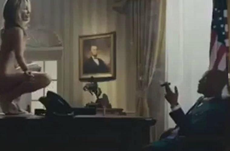 Video, Beyaz Saray'ın tepkisini çekti.