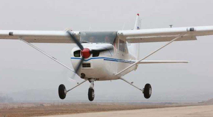Düşen uçak Cessena tipi tek moturlu bir uçak olarak açıklandı. Reuters