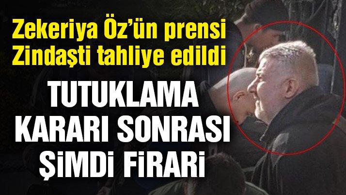 Zekeriya Öz'ün prensi Zindaşti tahliye edildi
