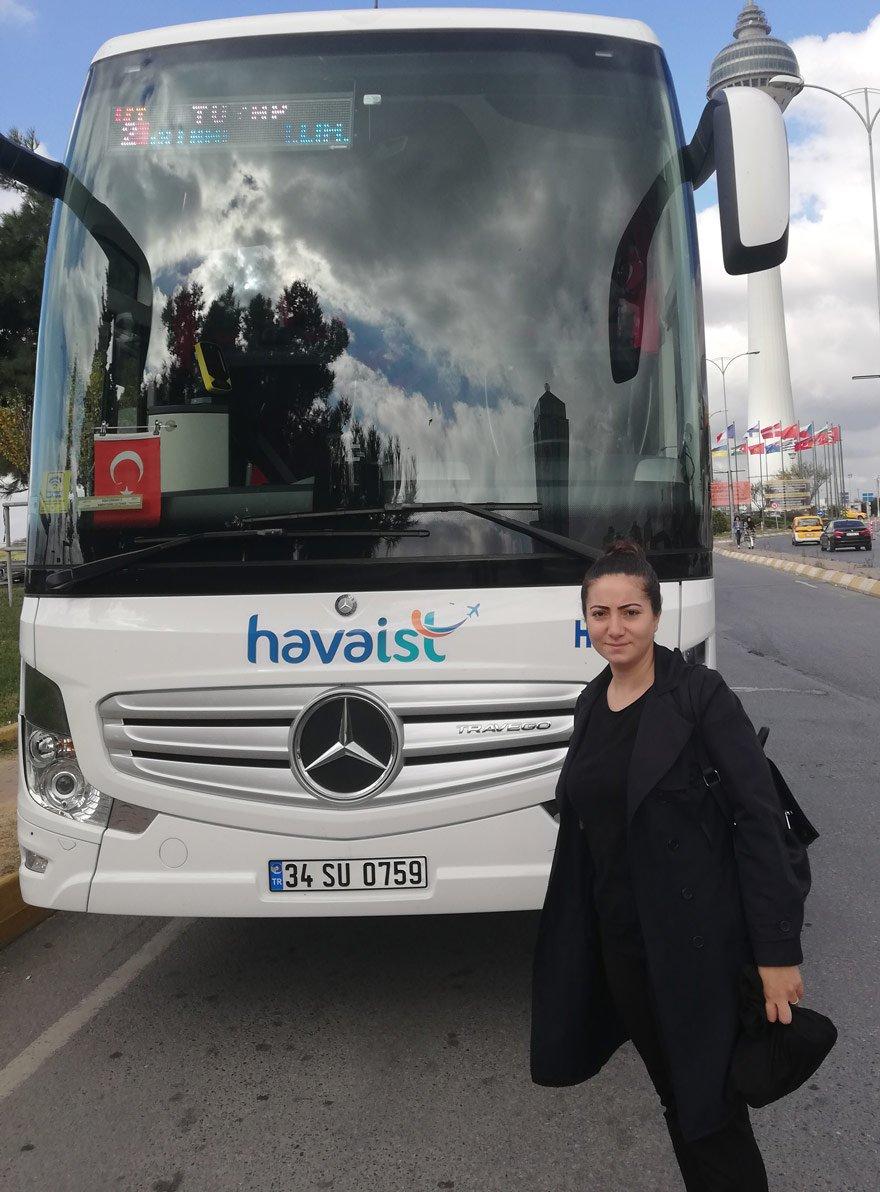 İstanbul Havalimanı'na ulaşım İETT ve HAVAİST'e ait otobüslerle sağlanıyor.