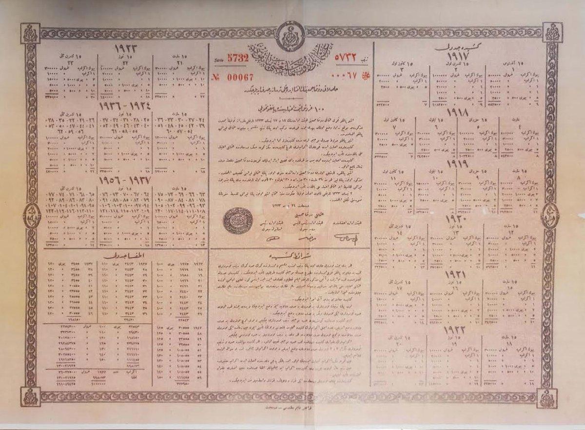 Akay'ın 5 milyar sterlin isterken gösterdiği belgelerden biri.