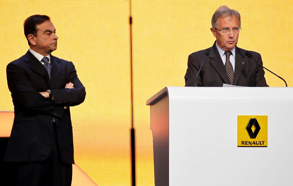 Carlos Ghosn ve Philippe Legayette