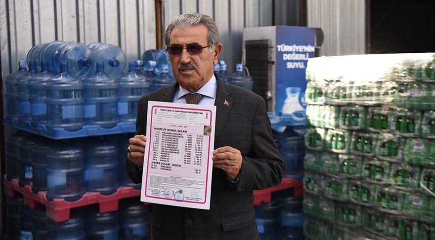 İstanbul Sucular ve Meşrubatçılar Esnaf Odası Başkanı Ahmet Turan Akkaya