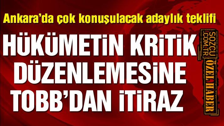 AKP'den oda ve borsa başkanları için 'adaylık' düzenlemesi