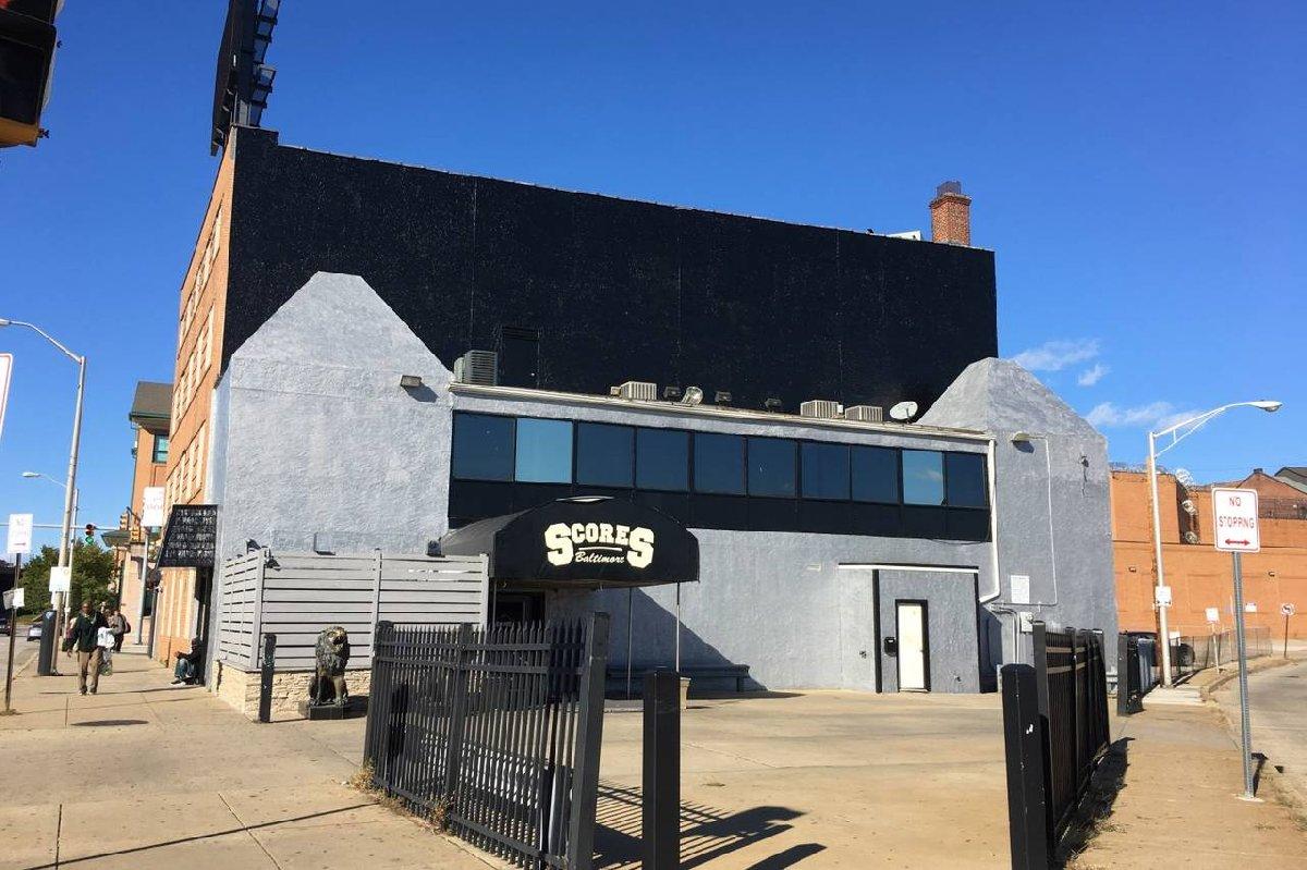 Çalışanların Baltimore'da gittiği striptiz kulüp.