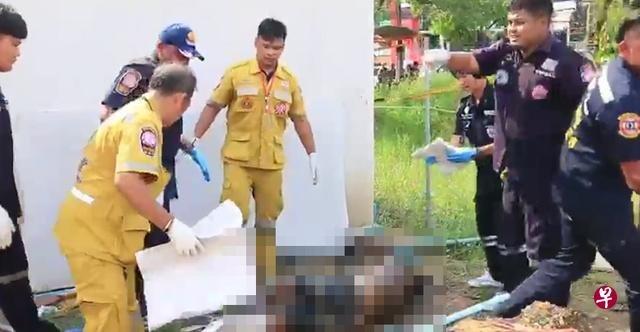 Tayland polisi şikayet üzerine araştırma başlatırken, lokantanın arkasındaki lağım çukurunda cansız bir beden buldu.