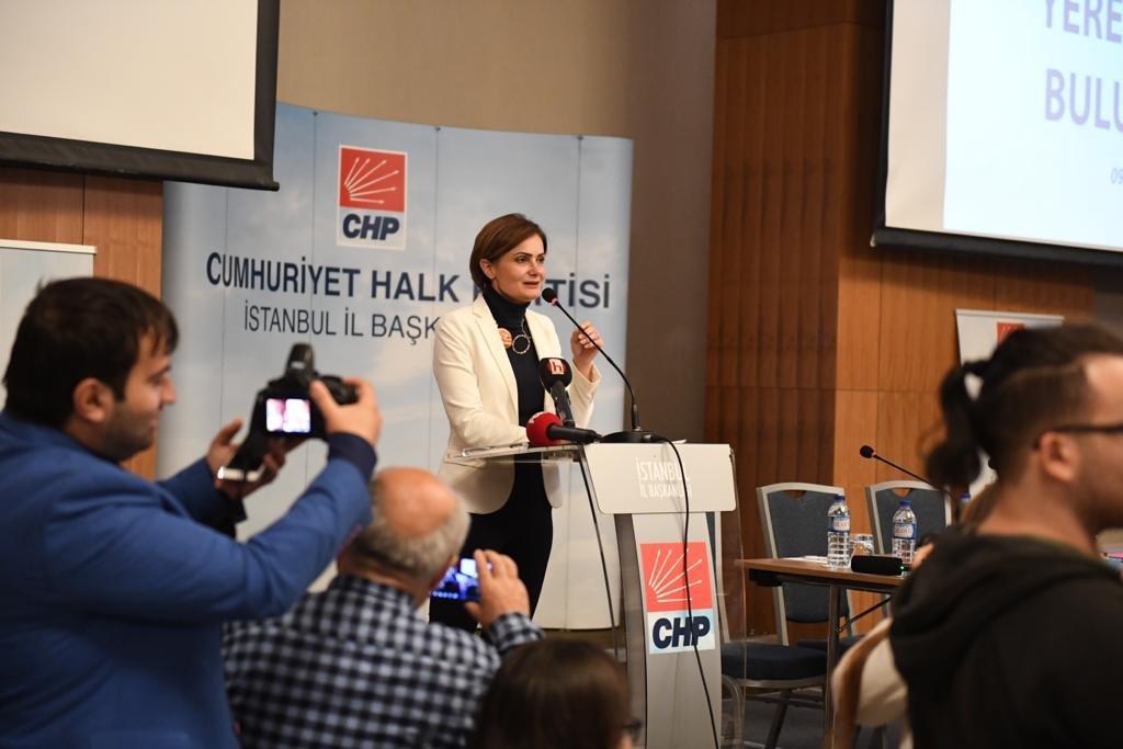 FOTO:SÖZCÜ - CHP İstanbul İl Başkanı Canan Kaftancıoğlu