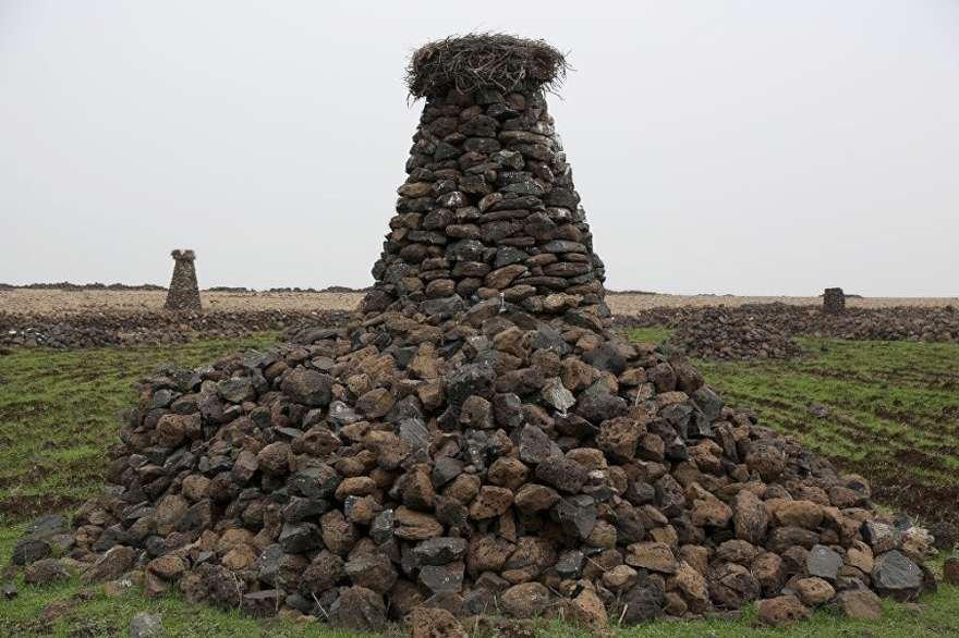 23 yıl önce kule yapma başlayan Arslan bu güne kadar onlarca kule inşa etmiş. Foto: Sputnik